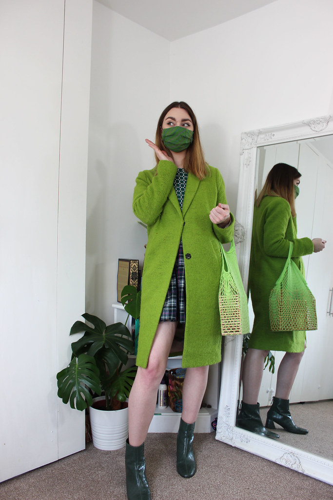 Emily In Paris inspired all green outfit by Chelsea Jade