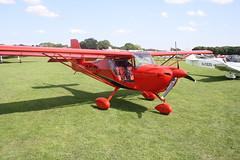G-CJTE Aeropro Eurofox 3K [50917] Sywell 310818