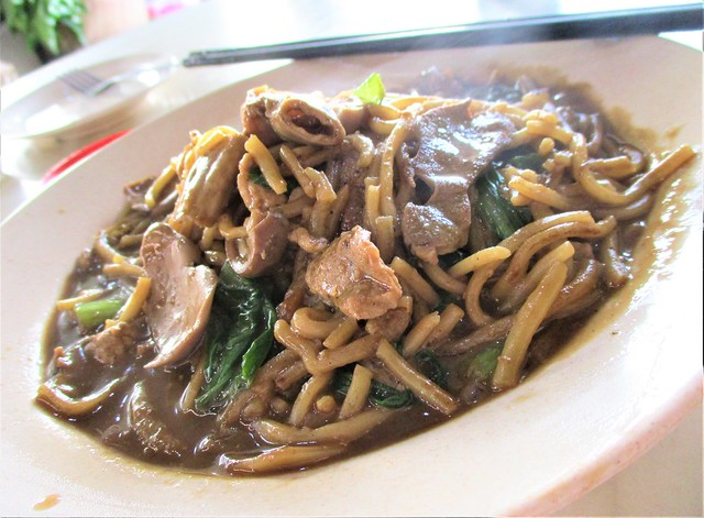 Foochow fried noodles special, moon