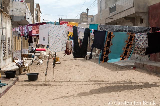 Saint-Louis (Senegal) street life