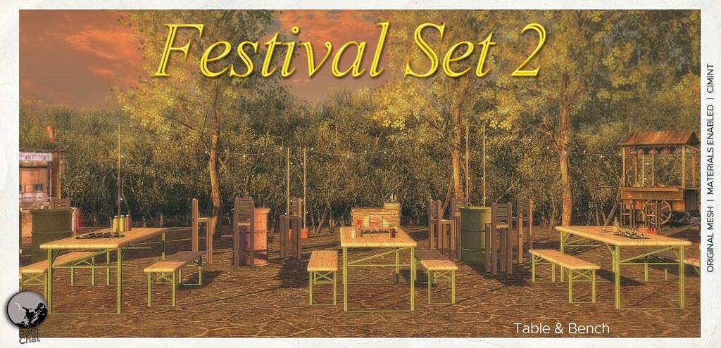 New Release : Festival Set 2 @ Secret Sale Sundays Oct 25th