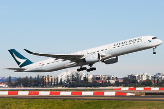 Cathay Pacific Airbus A350-1041B-LXA