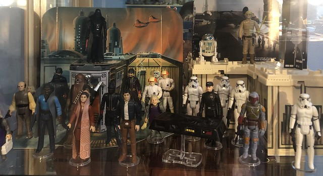 Cloud City Playset - one of my favorites as a kid. I used part of ESB Display Arena mail offer to make the display a bit more robust.