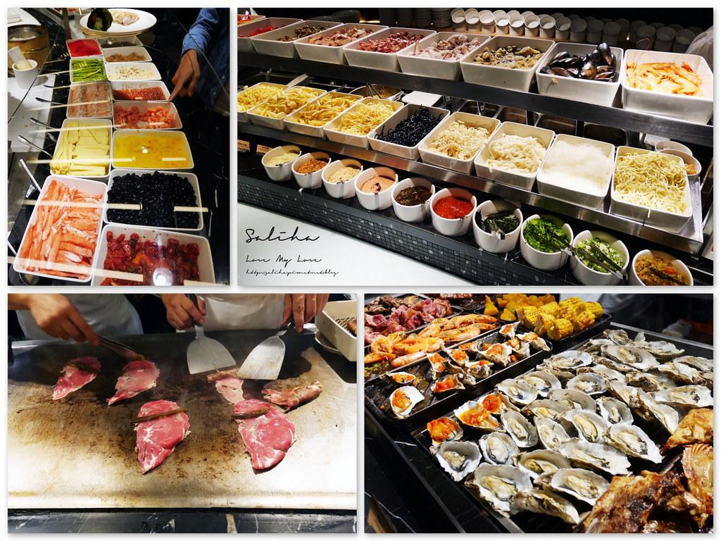 台北旅行行程推薦必吃晶華酒店自助餐buffet柏麗廳晚餐 (1)