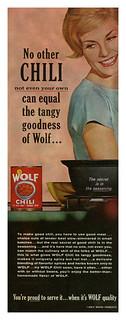 Wolf Chili (1961)