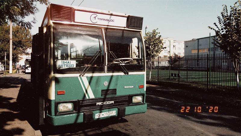 Autobuz DAC 112UDM #GJ01DRU al Transloc Tg. Jiu