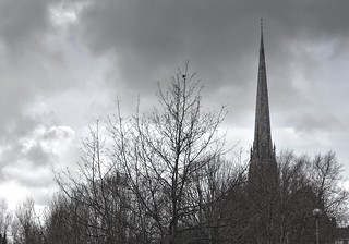 Tall spire of St Walburge's church in Preston | by Tony Worrall