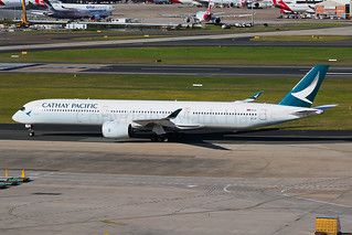 Cathay Pacific Airbus A350-1041 B-LXF
