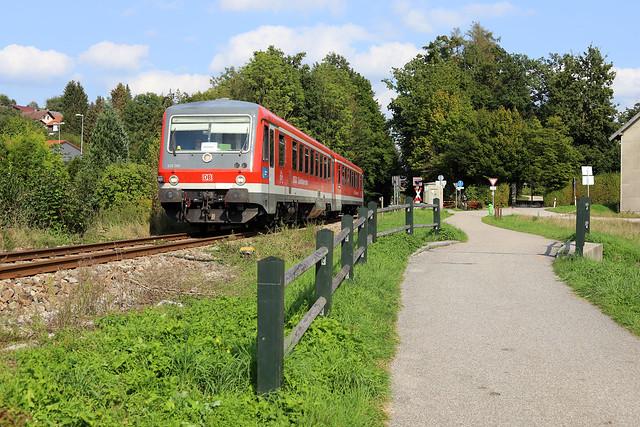 DB 628 585 Pfarrkirchen (D) 12 september 2020
