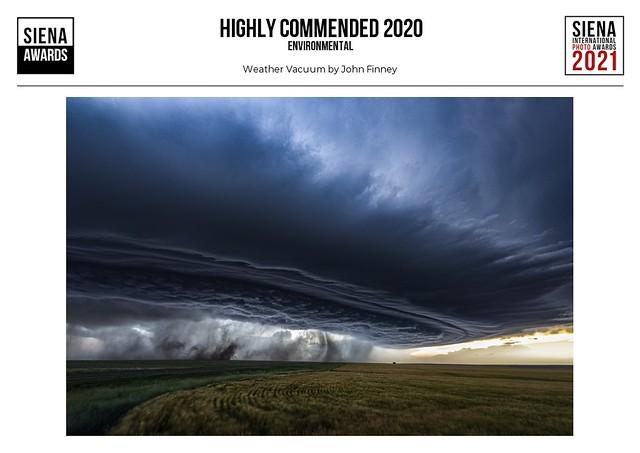 Weather Vacuum, (SIENA International 2020)