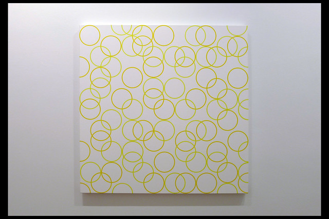 two yellows, composition with circles 6 01 2011 riley b (kunstmuseum den haag 2020)