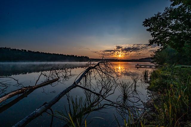 Sonnenaufgang am Dechsendorfer Weiher - 2432