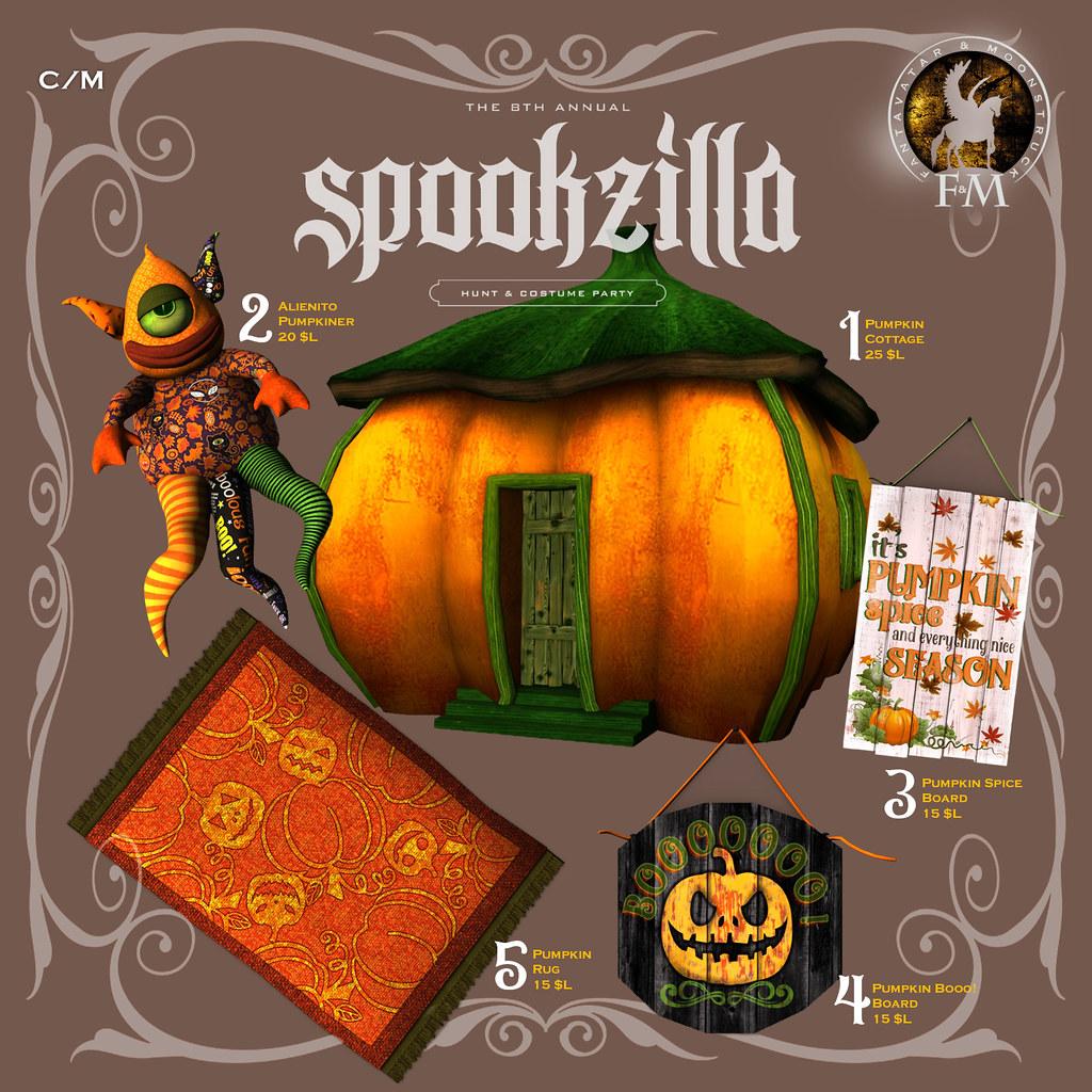 F&M * Spookzilla Hunt Key