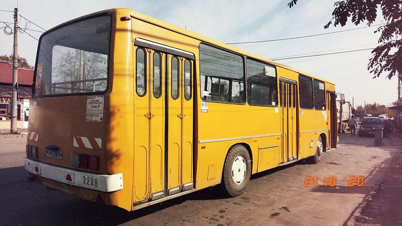 Autobuz Ikarus 260.02 #2288 în linia 104 al TCE Ploiești