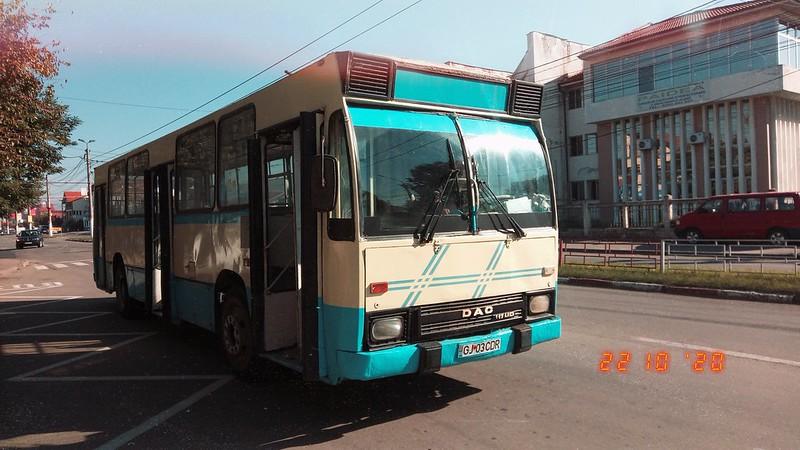Autobuz DAC 112UDM #GJ03CDR al Transloc Tg. Jiu