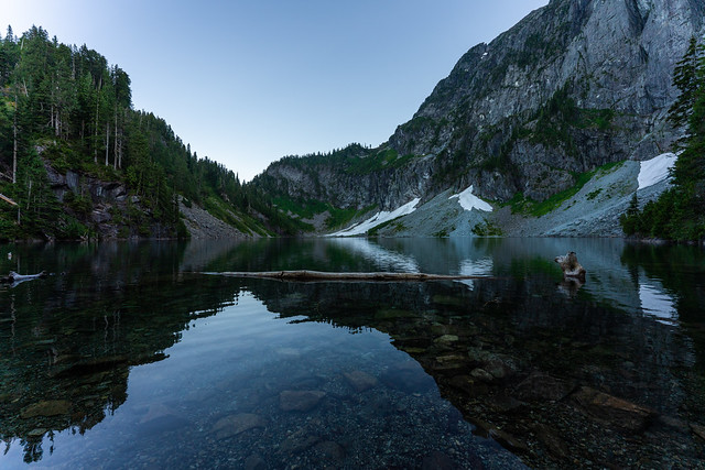 Lake Serene and Mount Index