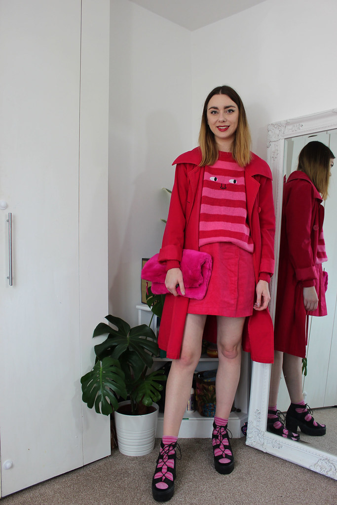 Emily In Paris inspired all pink outfit by Chelsea Jade
