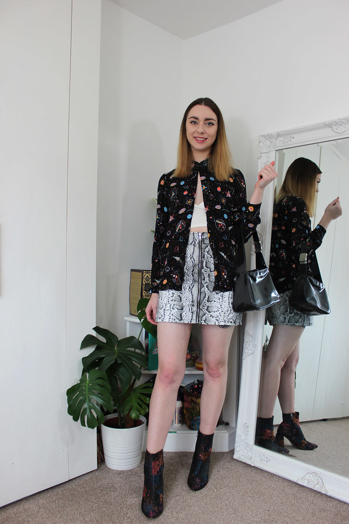 Emily In Paris inspired mismatching outfit by Chelsea Jade