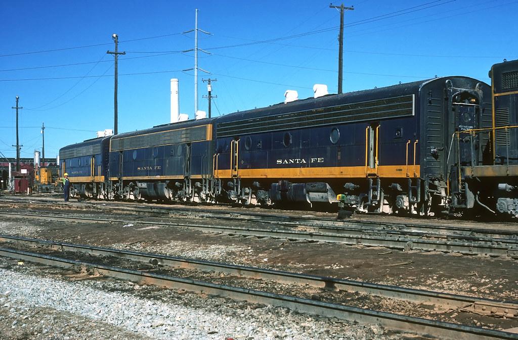 Santa Fe B units at Cleburne,Tx
