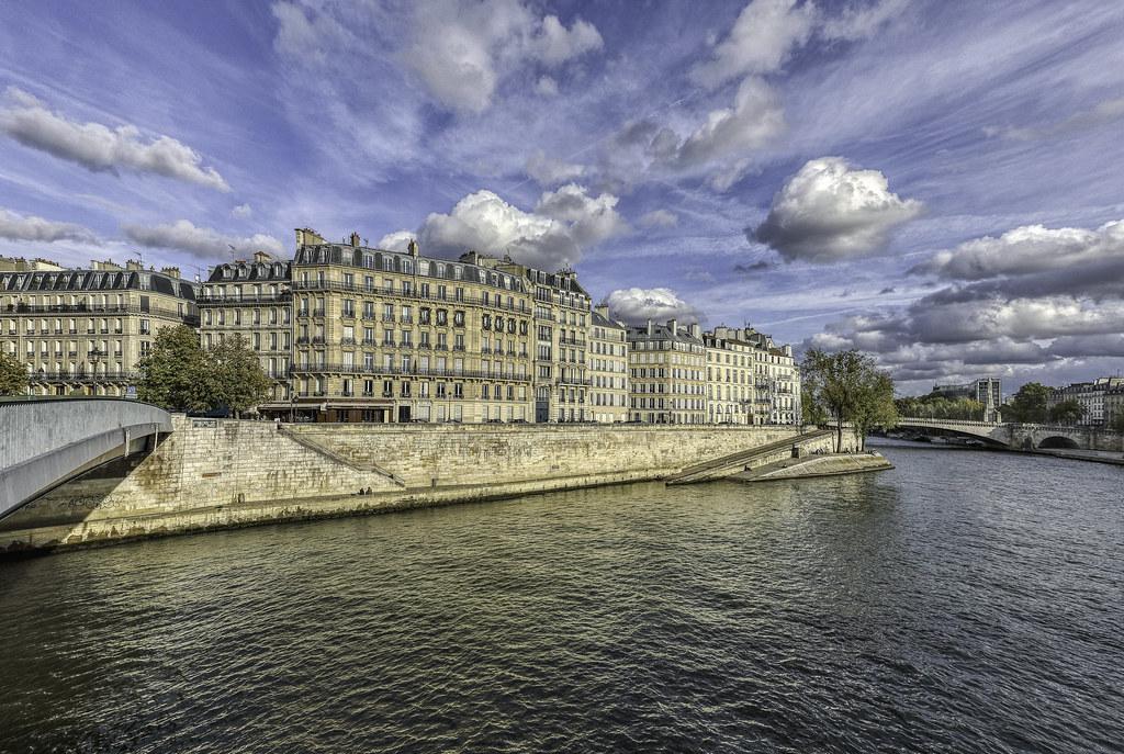 Paris, île Saint-Louis.