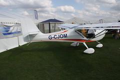 G-CJOM Aeropro Eurofox 3K [51216] Sywell 310818