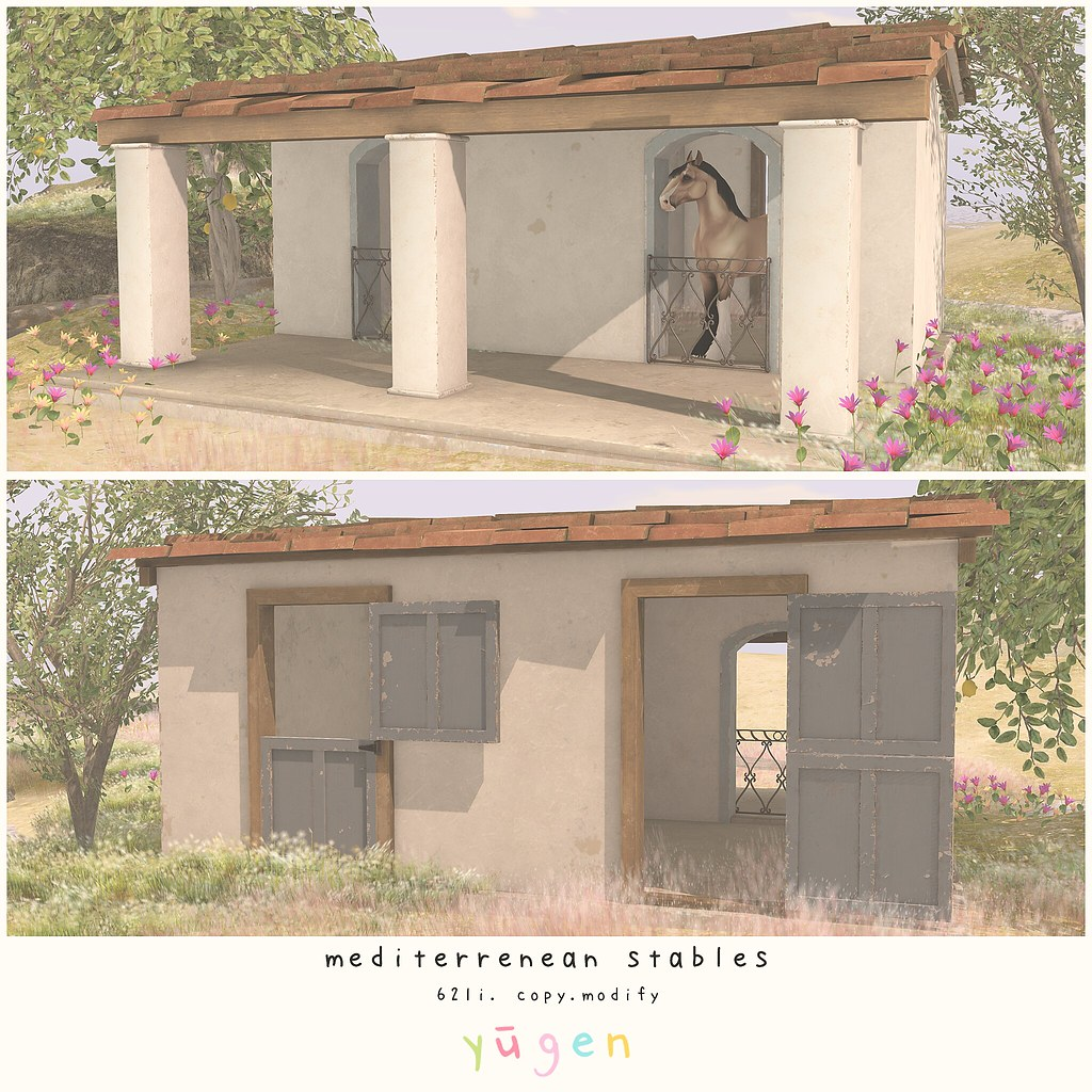 Yūgen.// mediterranean stables