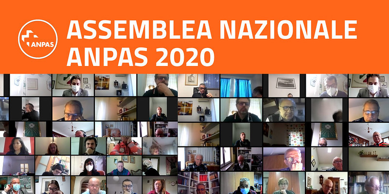 Assemblea nazionale 2020 Anpas: 24 ottobre 2020