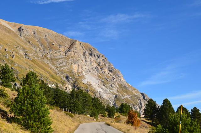 Parco dei Monti Sibillini - Dalle Marche direzione  Castelluccio di Norcia