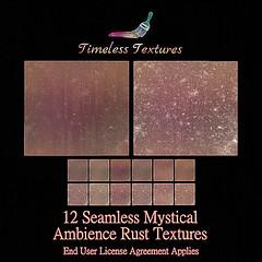 TT 12 Seamless Mystical Ambience Rust Timeless Textures