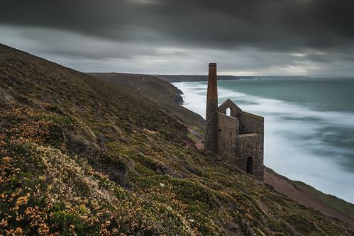 whealcoates tinmine cornwall stagnes seascape longexposure coast landscape canon 80d sigma 1020mm leefilters towanroathenginehouse