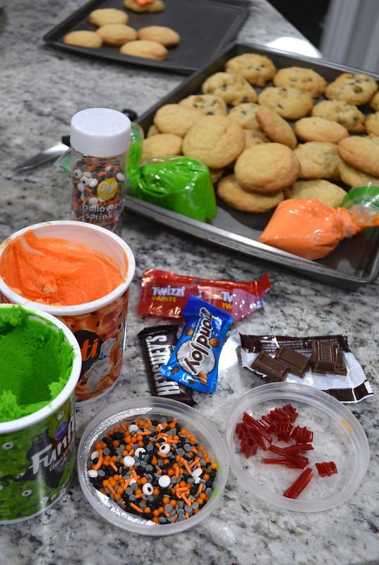 Monster Cookies supplies