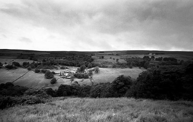 Homestead on the hillside