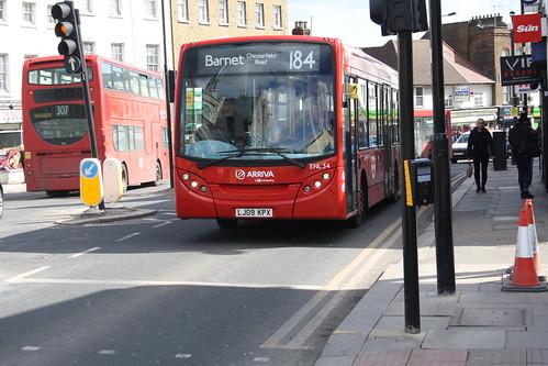 Arriva London ENL34 LJ09KPX