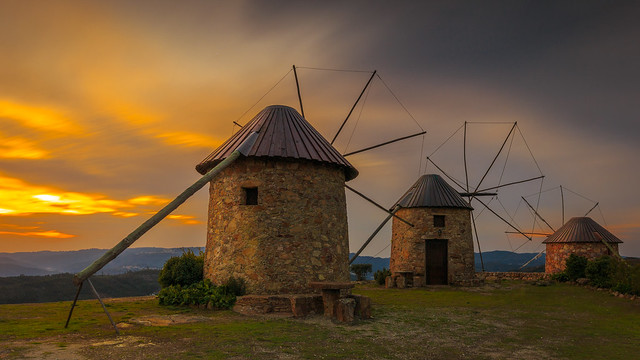 Old windmills...