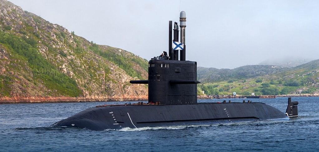 На одну подводную лодку в России стало больше МАШИНОСТРОЕНИЕ,Санкт-Петербург,СУДОСТРОЕНИЕ