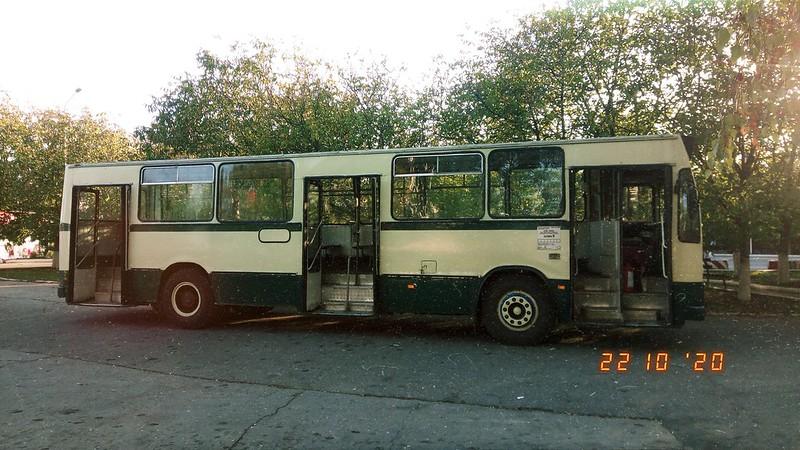 Autobuz DAC 112UDM #GJ02XKA al Transloc Tg. Jiu