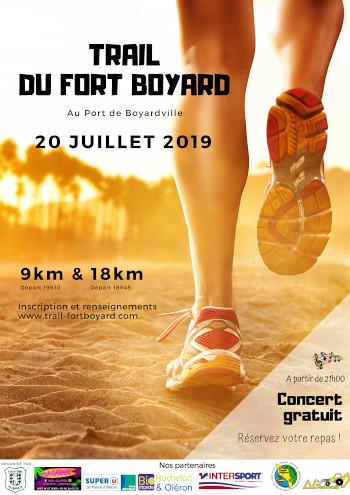 12em compétition, samedi 20 juillet 2019,  Trail du Fort Boyard, 9km, 89 em sur 458 classés