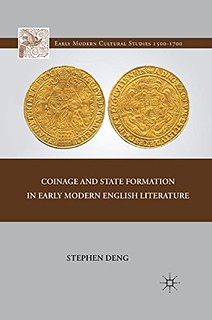Coinage and State Formation in Early Modern English Literature book cover