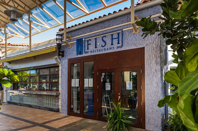 Naples, Florida - Fish Restaurant