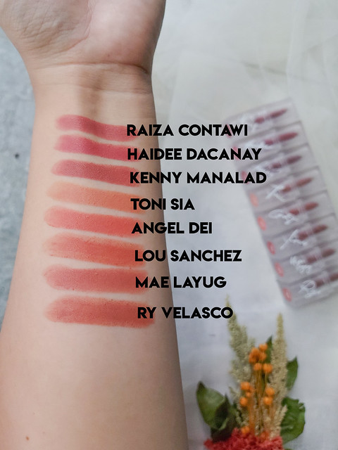Swatches Detail Cosmetics official