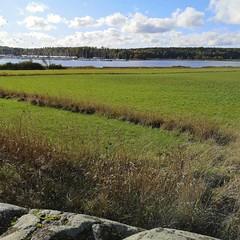 Utsikt från Näs mot Svinninge, Åkersberga.