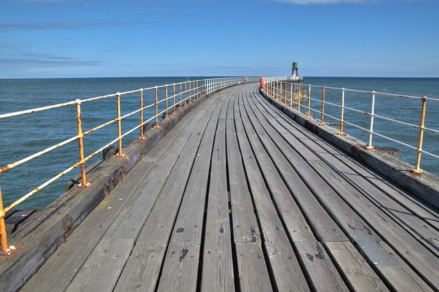 Long pier at Whitby