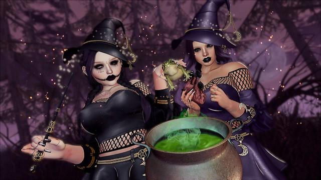 Double Double Toil & Trouble, Fire burn & Cauldron bubble~