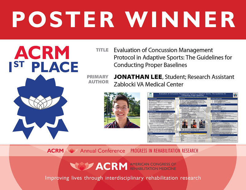 ACRM 2020 Outstanding Poster Award 1st Place