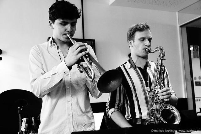Lorenz Widauer: trumpet / Michael Marginter: sax