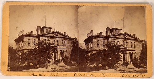 Carson City Mint Stereo View