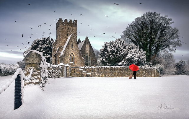 St.Doolagh's in the snow