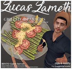 Luc - Grilled Asparagus @ equal10