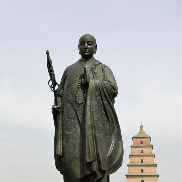 Xuanzang and the Big Goose Pagoda