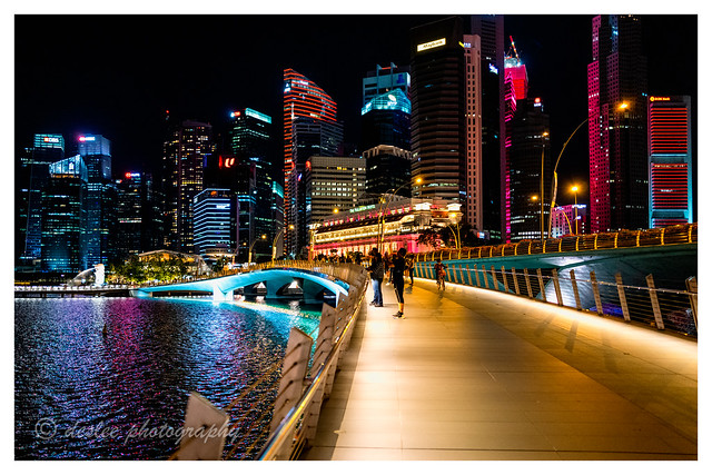 Toward the city